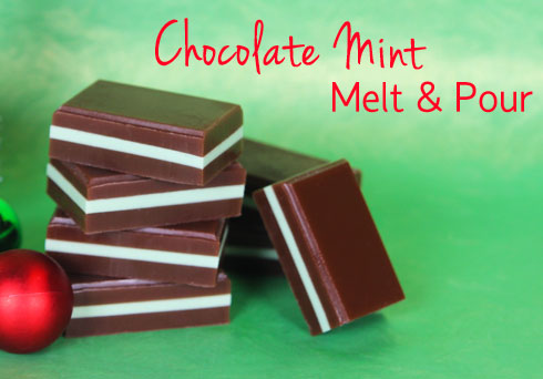 Chocolate Mint Melt & Pour