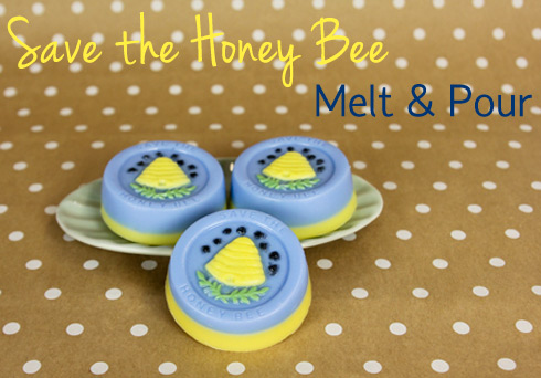 Save the Honey Bee Melt & Pour