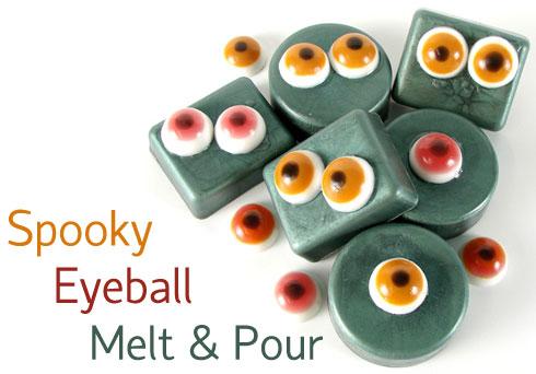 Spooky Eyeball Melt & Pour