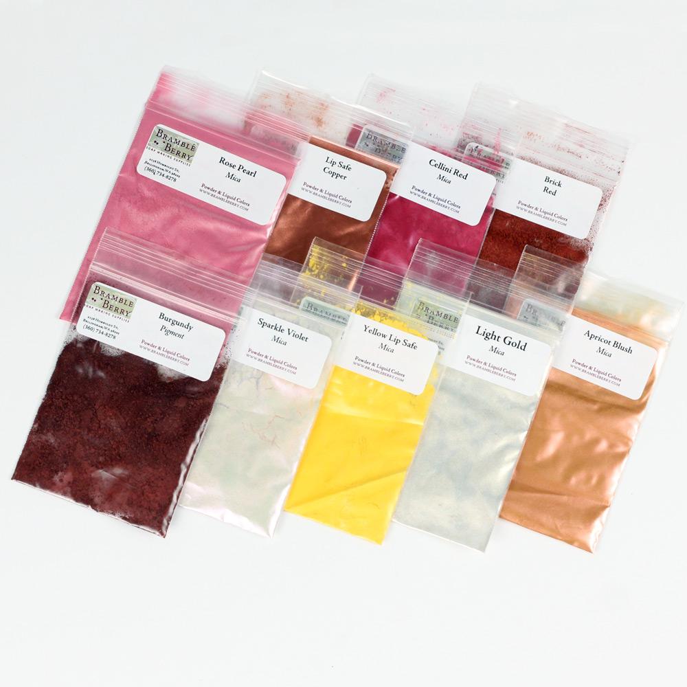 Lip-safe Colorants Sample Pack