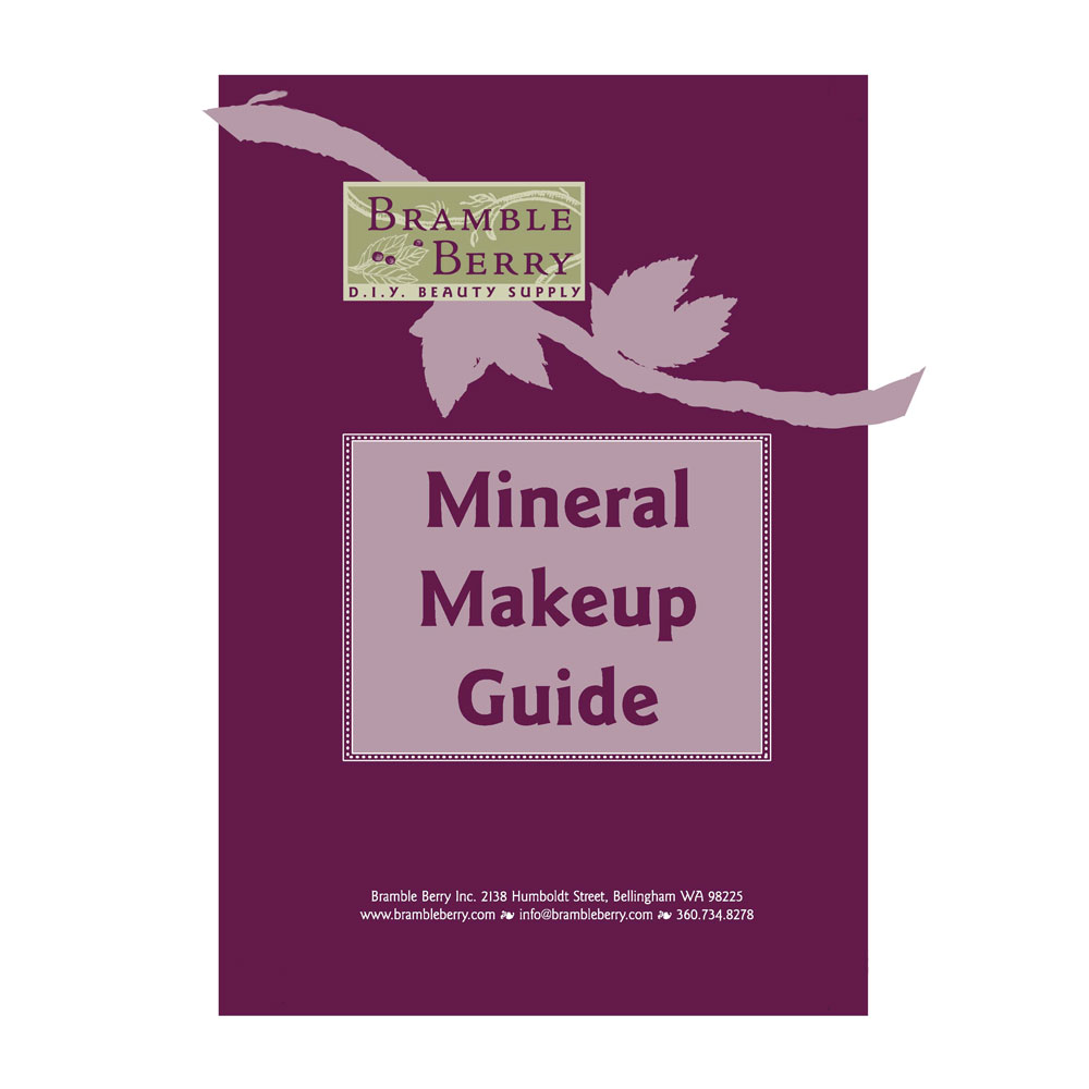 Mineral Makeup Guide Book