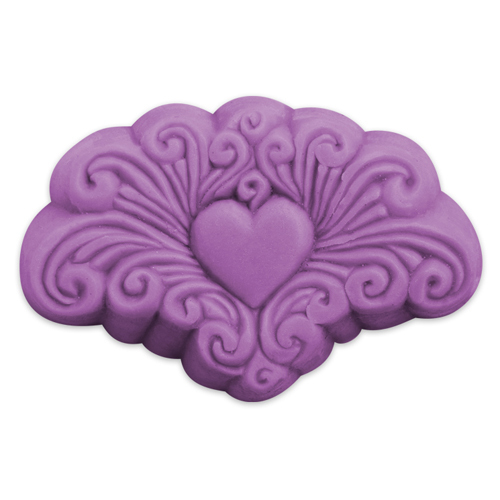 Arabesque Heart Mold