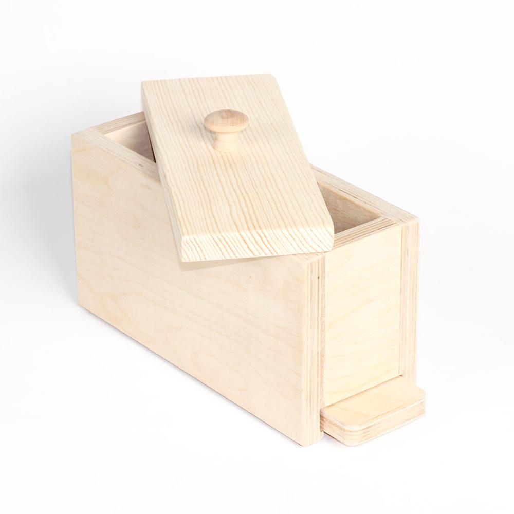Tall Narrow Wood Loaf Mold