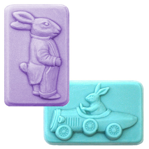 Two Bunnies Mold