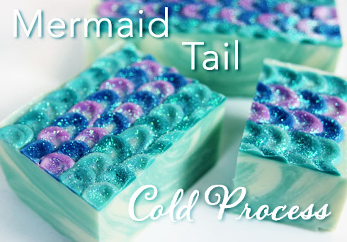 Mermaid Tail Cold Process