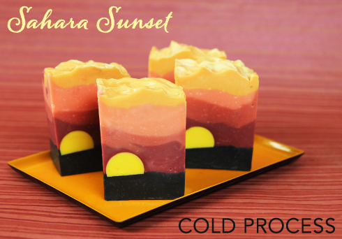 Sahara Sunset Cold Process