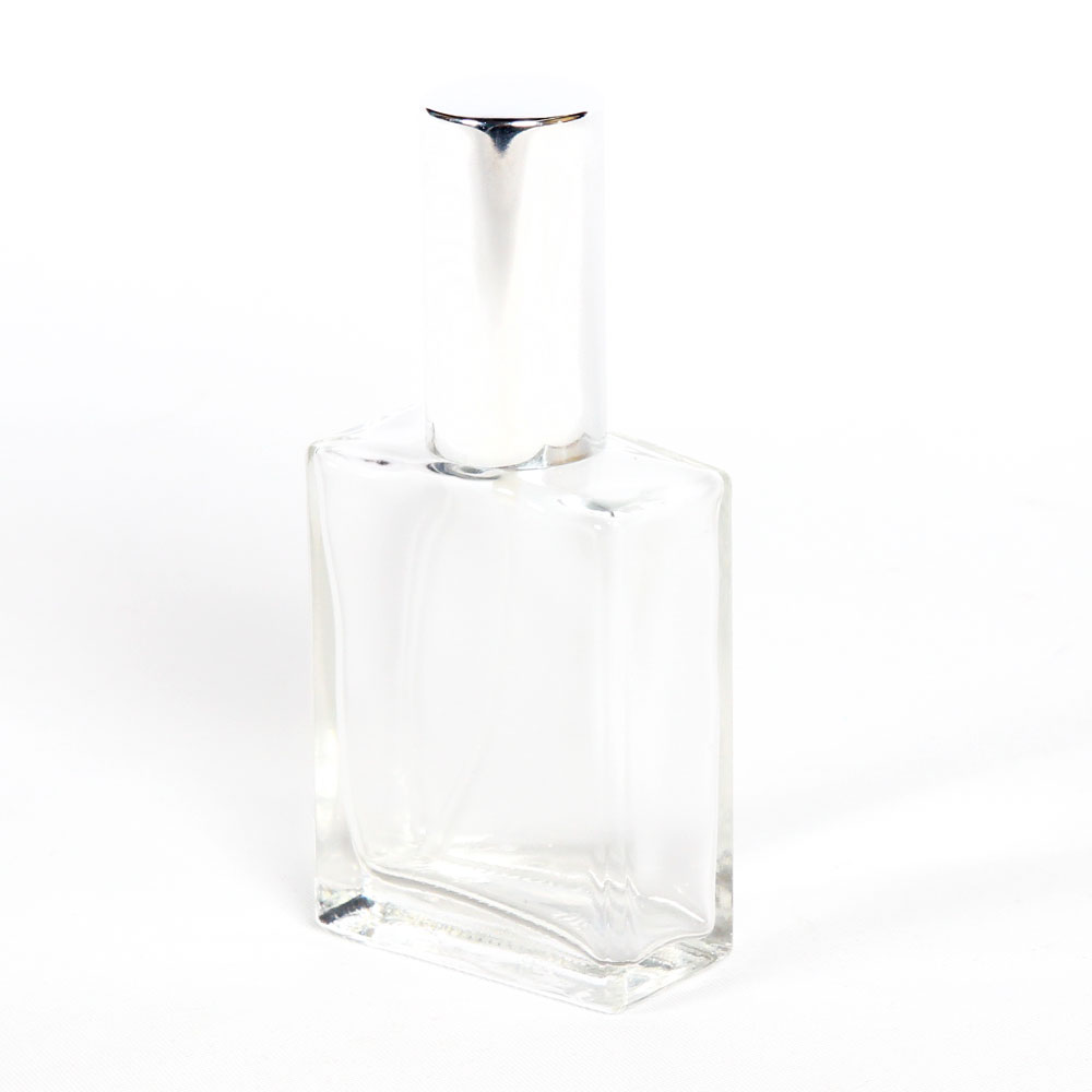 Glass Rectangle Perfume Bottle