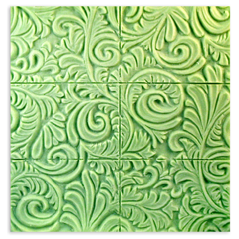 Tray Floral Wallpaper Mold