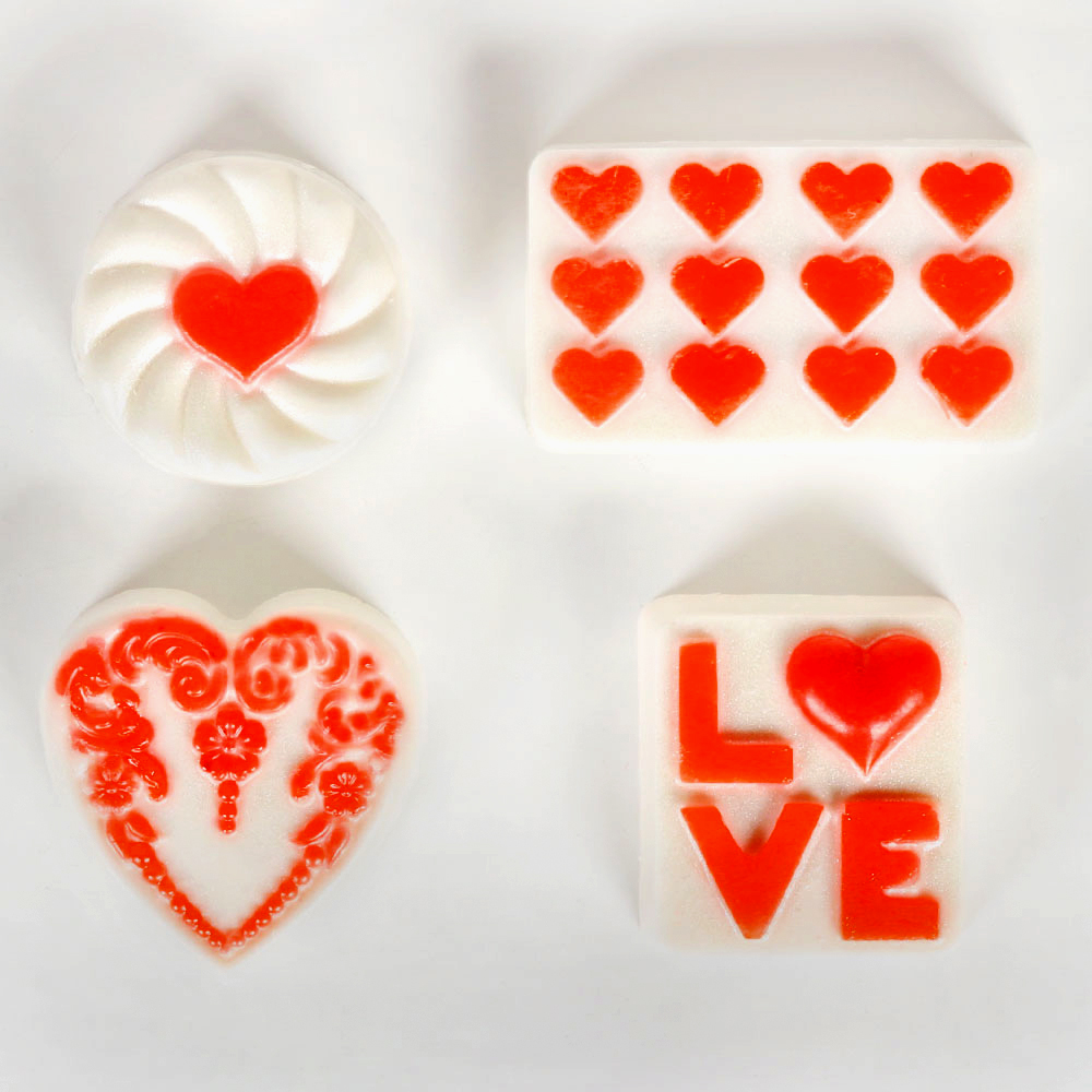 Valentine Variety Mold, Heavy Duty