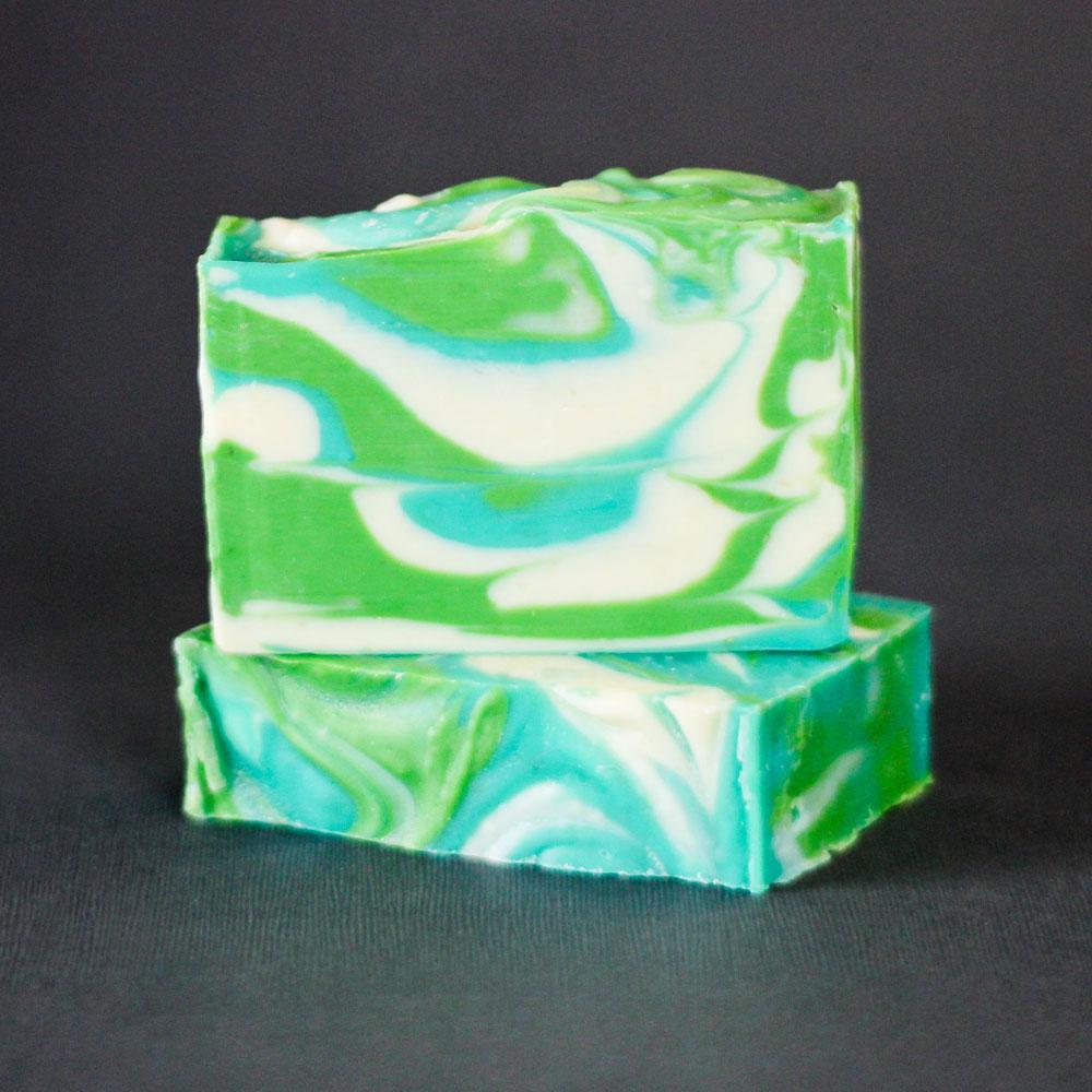 Aloe Vera Hanger Swirl Soap Kit + Book