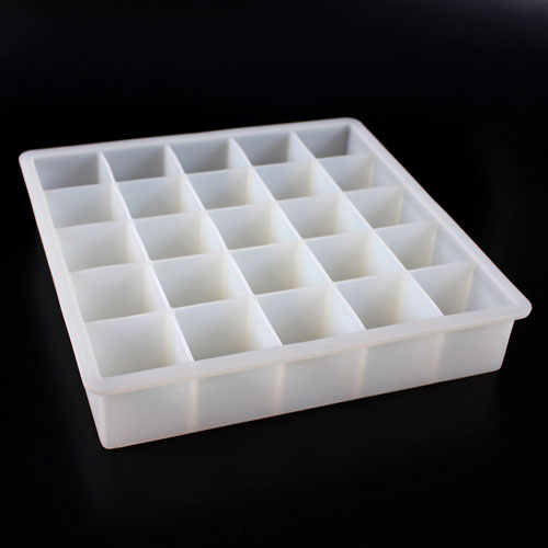 25 Cube Soap Silicone Mold