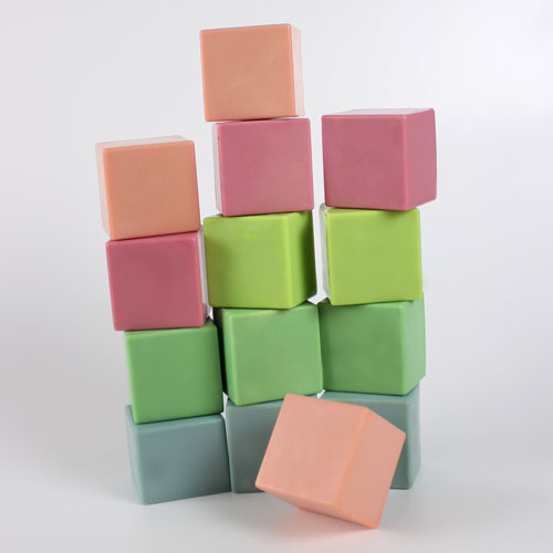 Colorful Cube Soaps