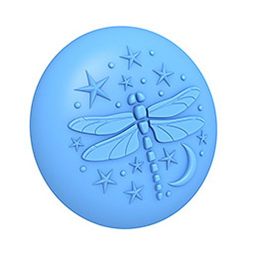 Celestial Dragonfly 3D Mold