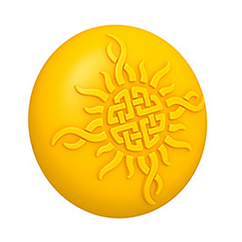 Celtic Sun 3D Mold