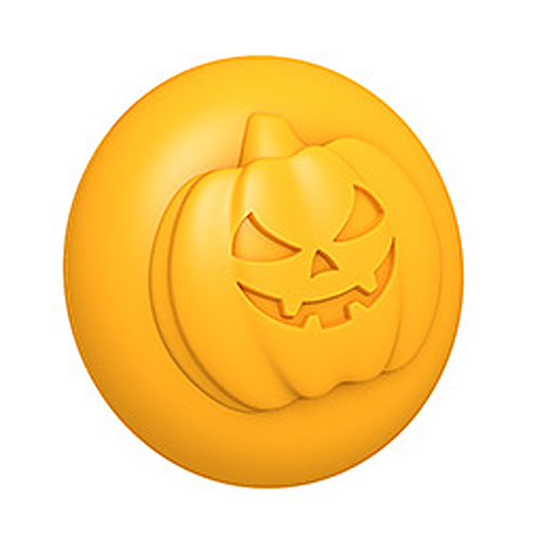 Spooky Pumpkin 3D Mold