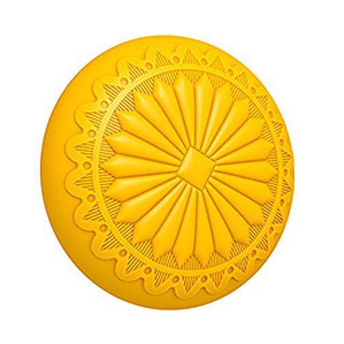 Sunburst Round Concho 3D Mold