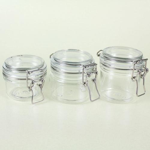 Short 8 Oz Plastic Bail Jar Bramble Berry 174 Soap Making