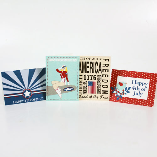 4th of July Day Cards Digital Download