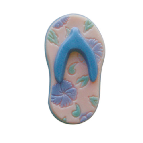 Aloha Flower Sole Flip Flops Mold