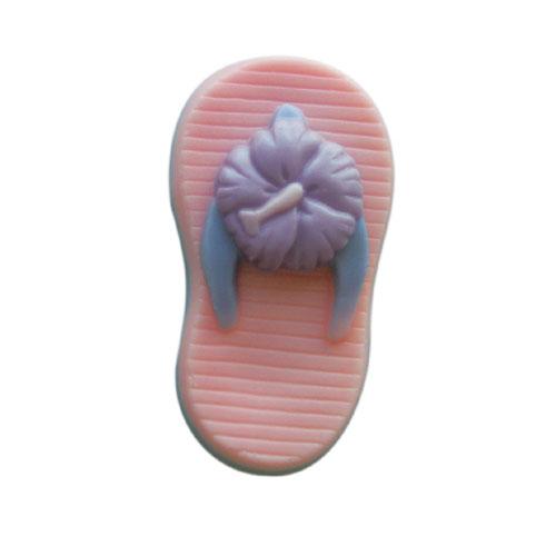 Aloha Hibiscus Flip Flop Mold