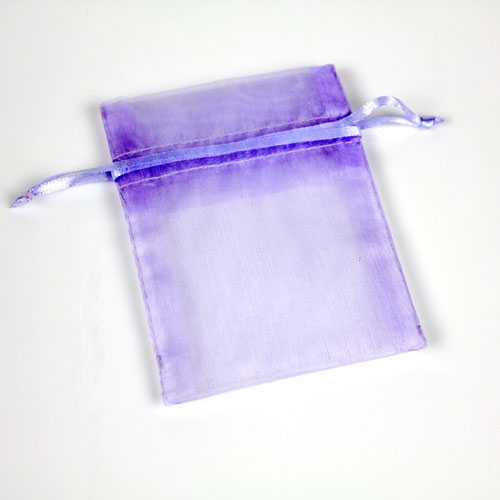 Lavender Organza Bag Small