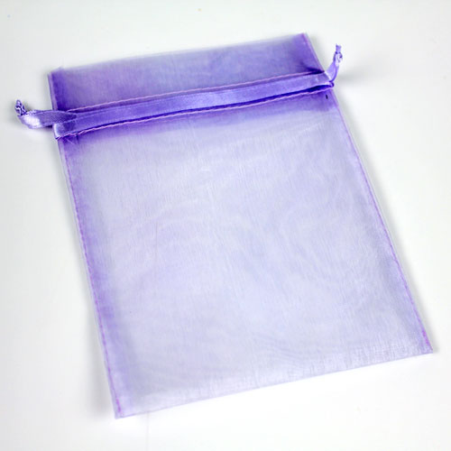 Lavender Organza Bag Large