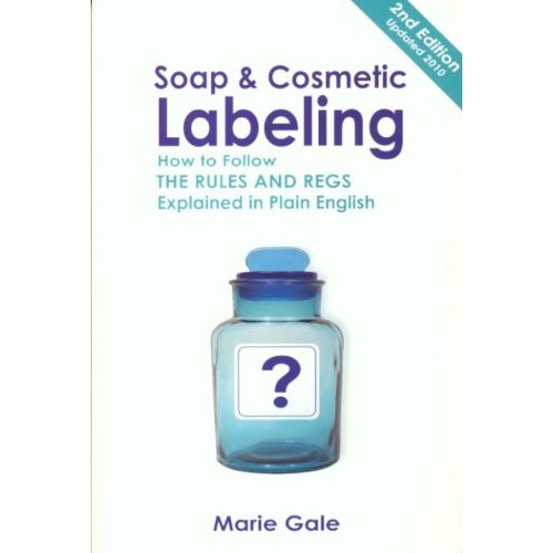 Soap And Cosmetic Labeling Book