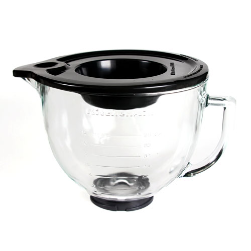 5 Quart Glass Mixing Bowl with Lid