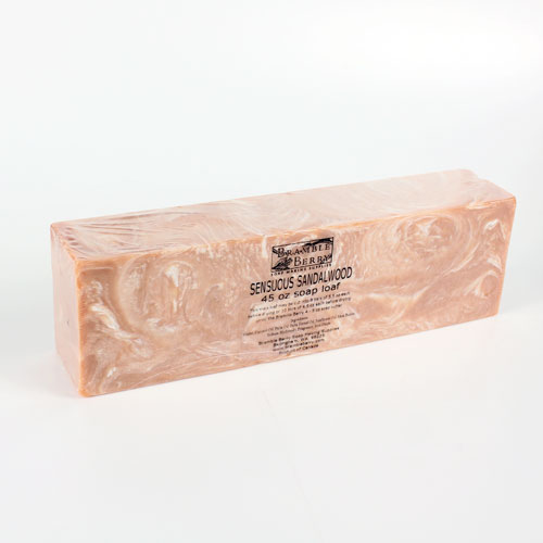 Sensuous Sandalwood CP Soap - 45 oz