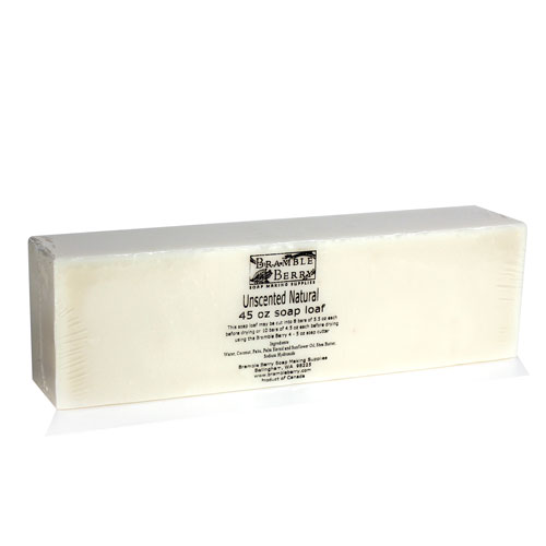 Unscented CP Soap Loaf - 45 oz