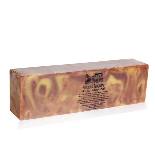 Patchouli Tangerine CP Soap Loaf - 45 oz