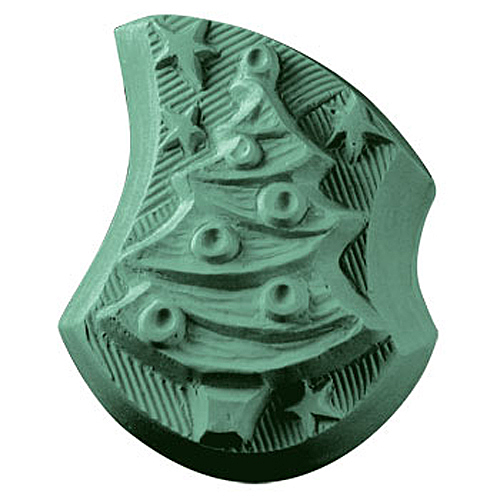 Christmas Tree With Ornaments Mold
