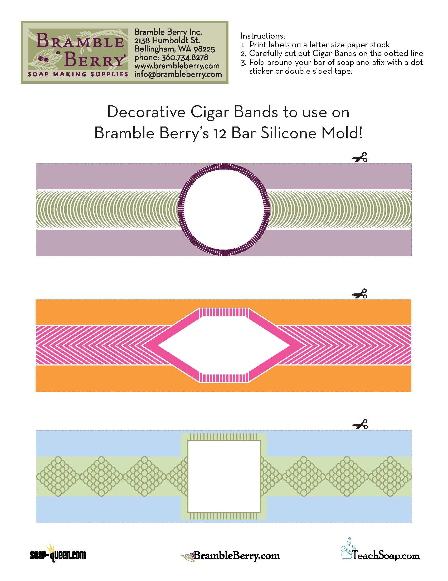 Cigar Band Label file