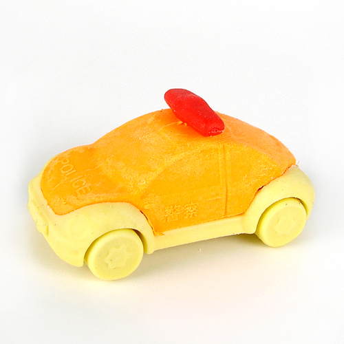 Police Car Eraser