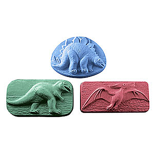 Dinosaur Trio Mold