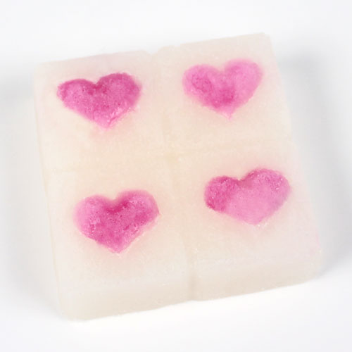 Heart Sugar Scrub Mold