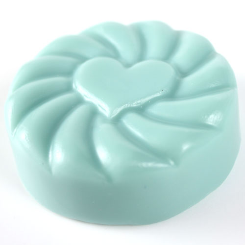Side View of Radiant Heart Mold