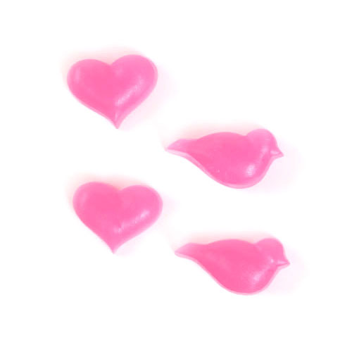 Tiny Hearts and Birds Mold