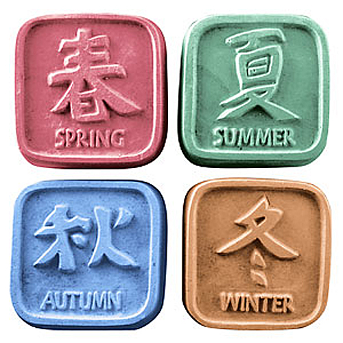 Feng Shui Seasons Mold