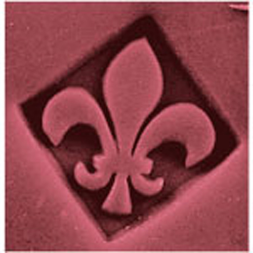 Bramble Berry  | Fleur De Lis Stamp, 1 stamp :  rubeesoaps skin care soapmaking body