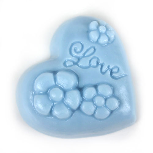 Guest Flexible Flower Heart Mold