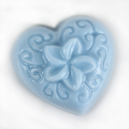 Guest Flexible Plumeria on Heart Mold