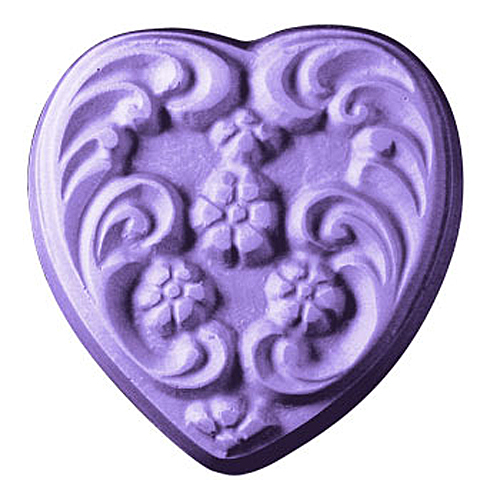 Floral Heart Mold