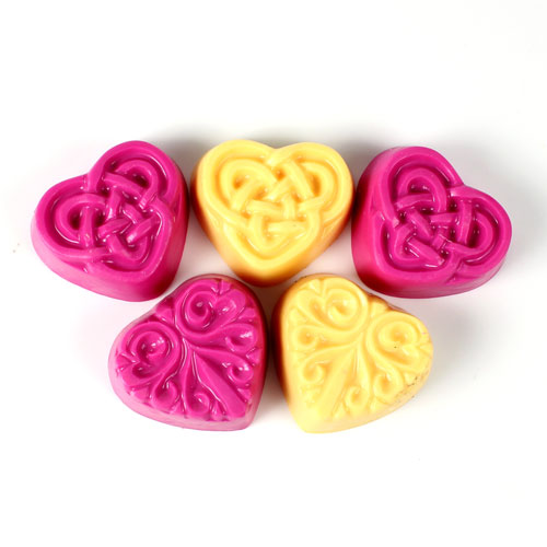 Guest 2 Hearts Mold