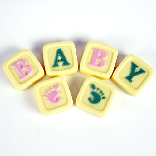 Guest Mini Baby Blocks Mold