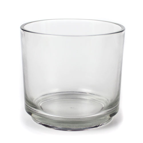 Round Glass Candle Jar, 14 oz