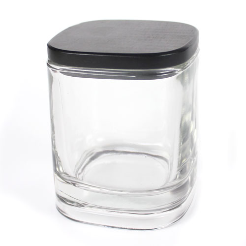Lidded Glass Candle Jar, 6 oz