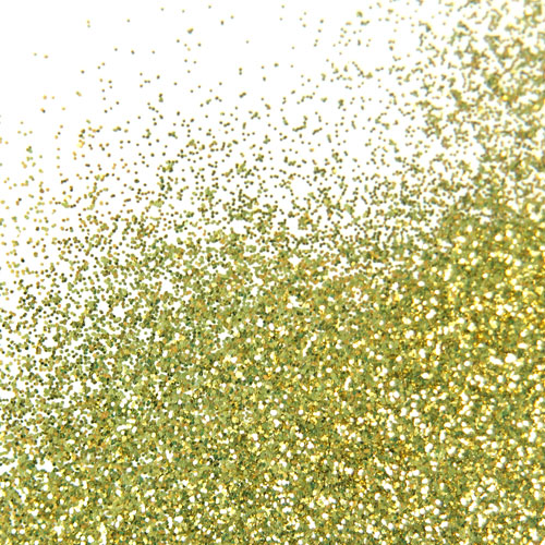 Gold Nail Polish Glitter, 1 oz