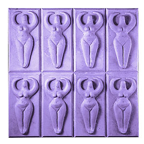 Goddess Tray Mold