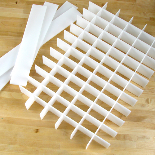 Guest Dividers for 36 bar Birch Mold (makes 72 bars)